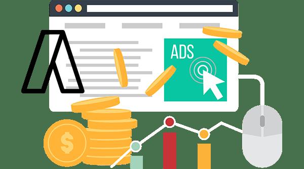PPC Google AdWords Flat Image