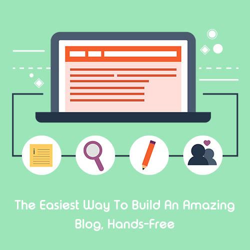 BrandLume Blog Writing Service Flat Banner