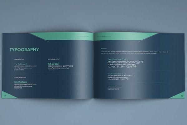 Modern Brand Style Guide Design by BrandLume