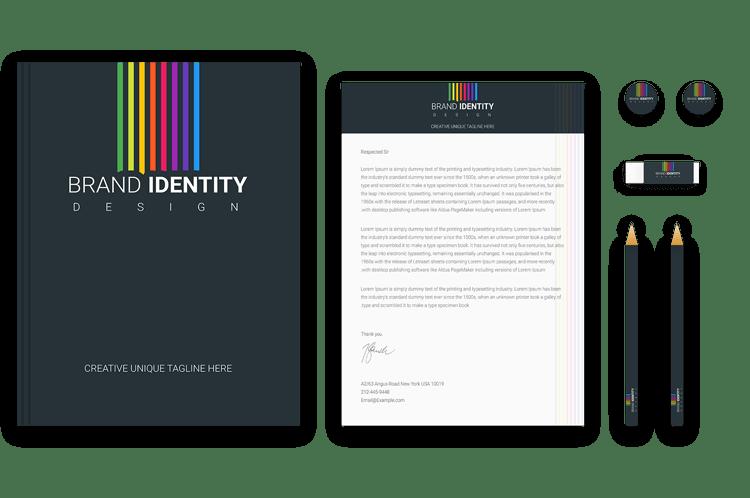 Rainbow Brand Identity Design by BrandLume