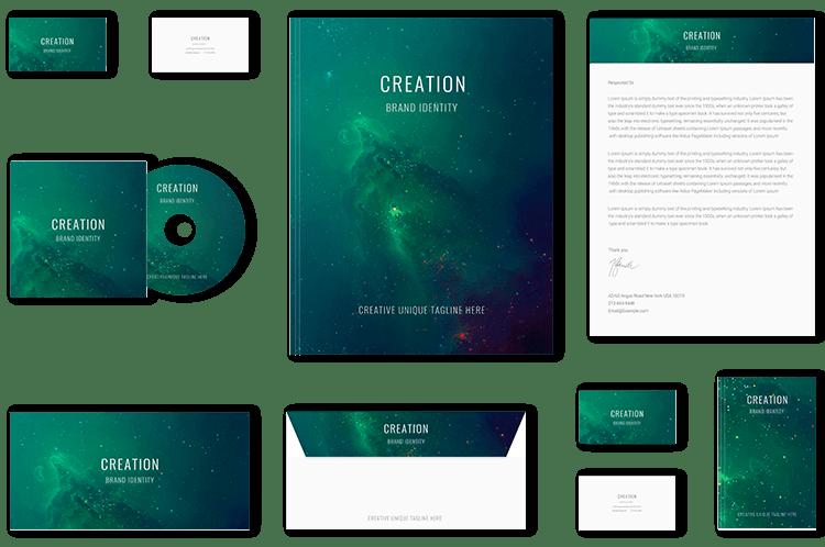 Creative Green Brand Identity Design by BrandLume