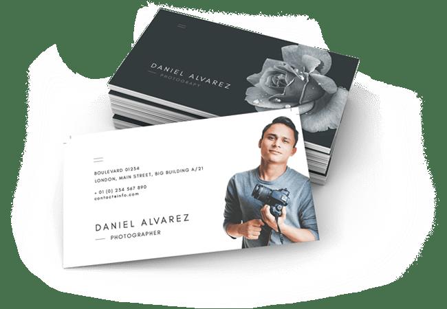 Photographer Business Card Design by BrandLume