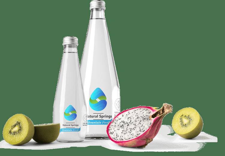 Premium Water Bottle Label Design by BrandLume