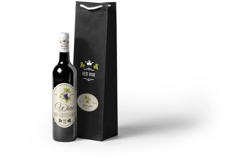 Elegant Packaging and Label Design for Wine by BrandLume