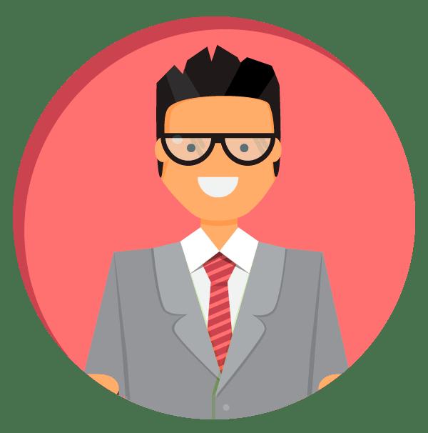 BrandLume Spokesman video marketing service flat image
