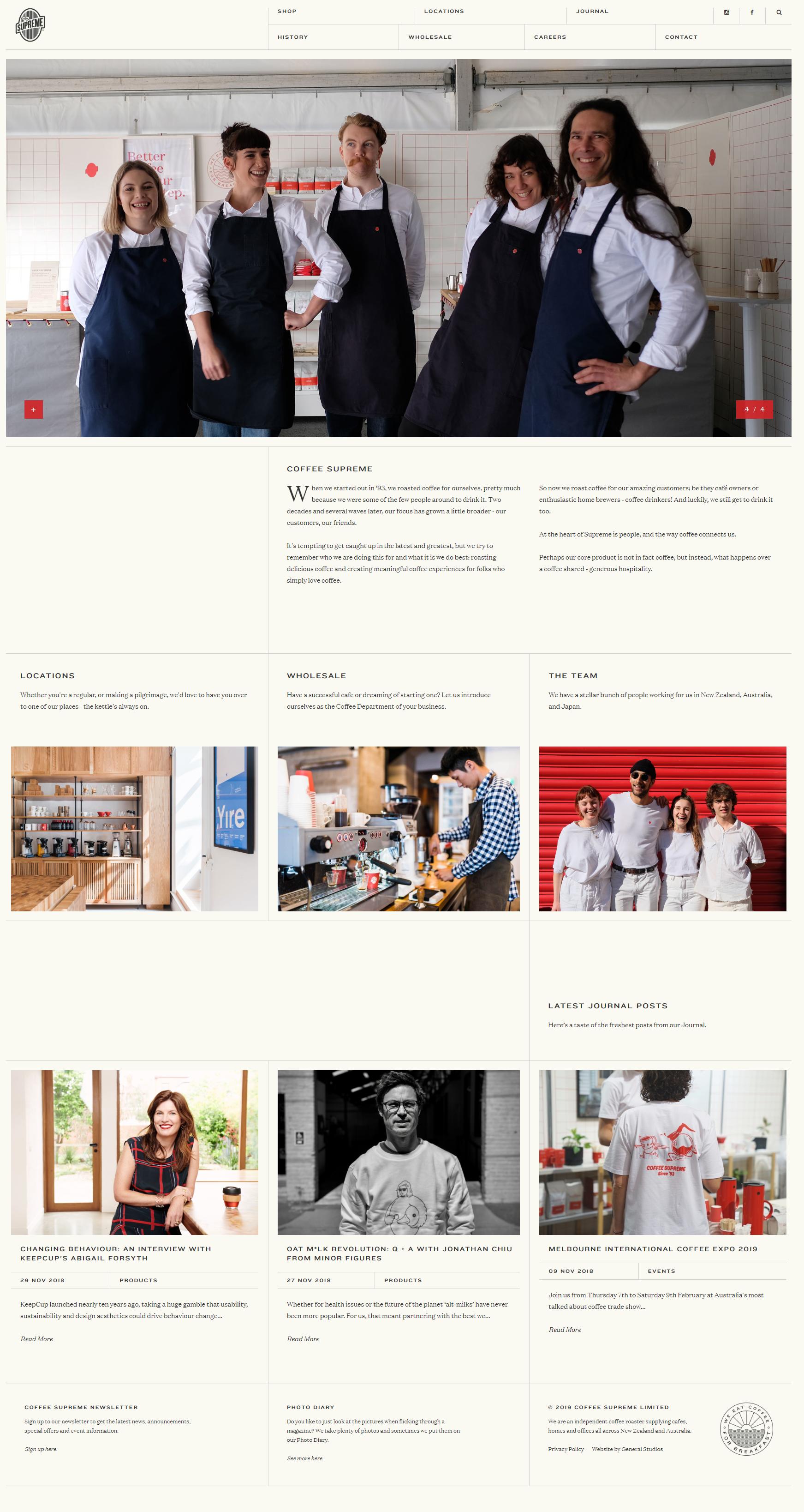 BrandLume Website Design Example