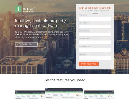 Previous Software Website Design Example