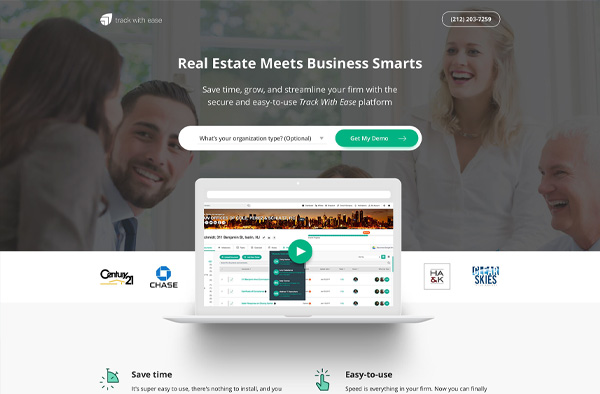 Previous Business Website Design Example