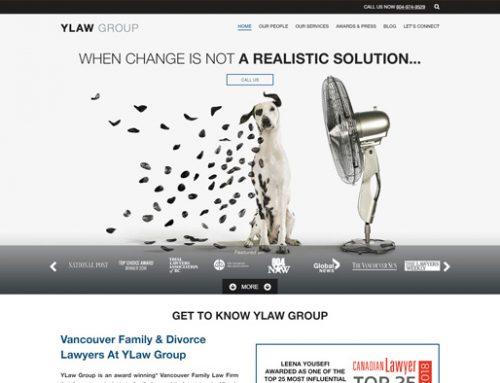 Family Law Firm Website Design Sample
