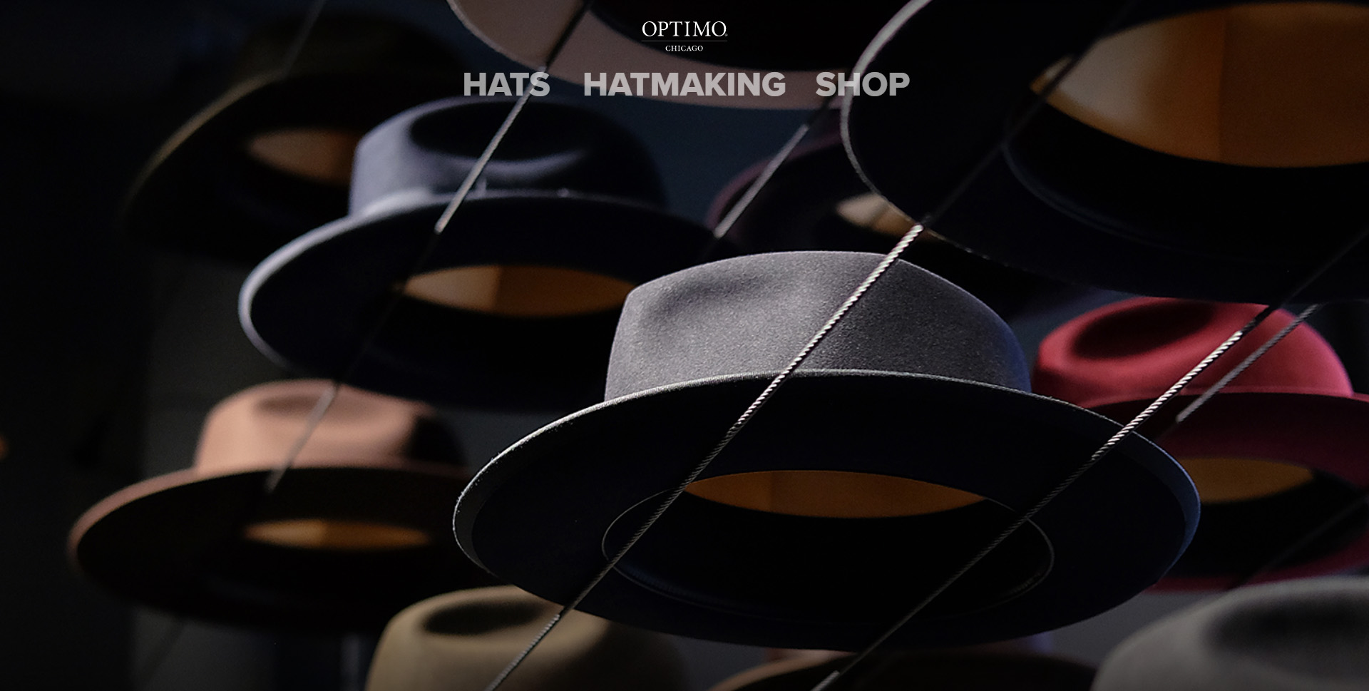 Previous Hat Fashion Website Design Example