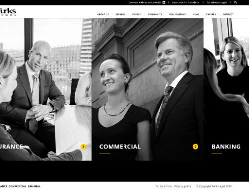 Previous Legal Office Website Design Sample