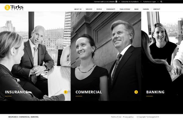 Previous Legal Office Website Design Sample