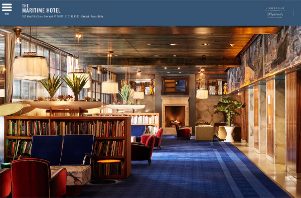 Previous Lifestyle Hotel Website Design Sample