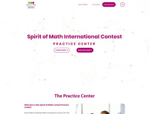 Previous LMS Website Design Example