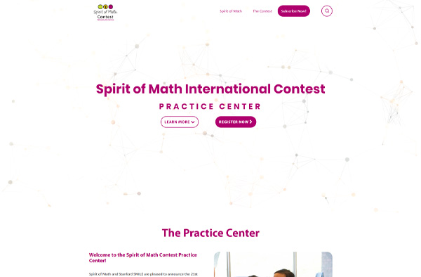 Previous LMS Website Design Example