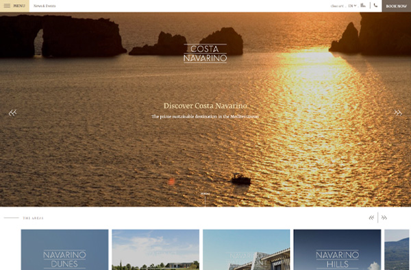 Previous Luxury Travel Website Design Sample