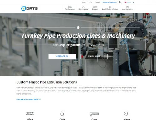 Previous Pipe Manufacturing Website Design Sample