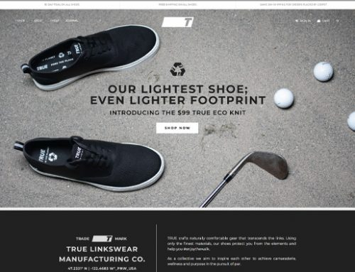 Previous Sports Fashion Website Design Example