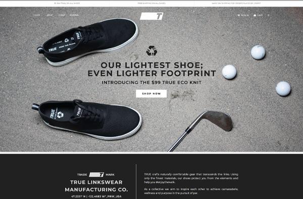 Previous Sports Fashion Website Design Example