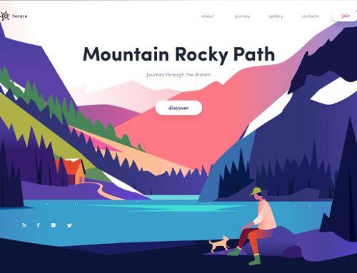 Previous Travel Website Design Example 2