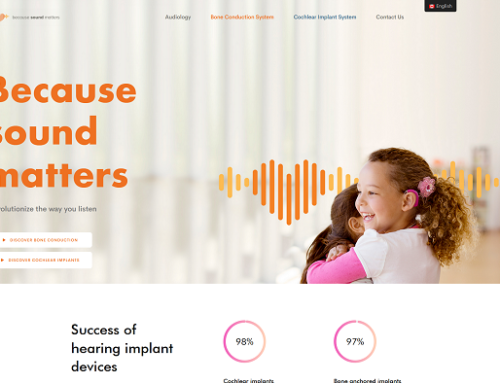 Previous Hearing Solutions Website Design Example